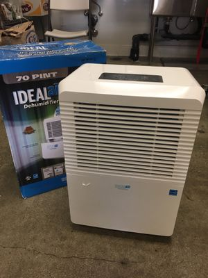 Ideal Air Dehumidifier 70 Pint New Never Used for Sale in Los Angeles, CA