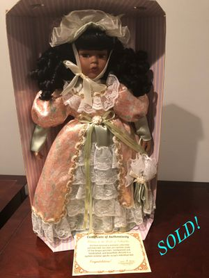 Black Porcelain Dolls ($25 each/obo) for Sale in Forest Heights, MD