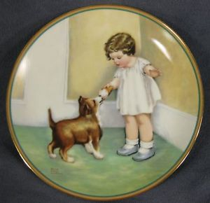 Bessie Pease Gutmann-The Reward plate