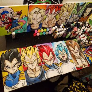 Vegeta Forms Set! By Quil - Dragonball Z for Sale in Tracy, CA
