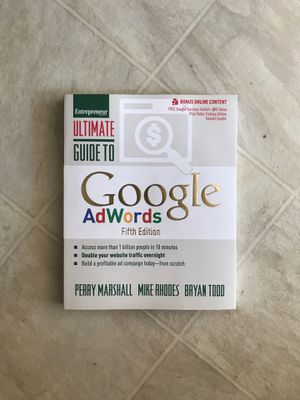 Google AdWords Fifth Edition - Marshall /Rhodes/Todd for Sale in Chelmsford, MA