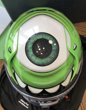 HJC Monsters Inc Mike Wazowski Helmet Size Medium for Sale in Burleson, TX