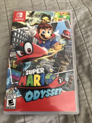 Super Mario Odyssey for Nintendo Switch for Sale in Grand Prairie, TX