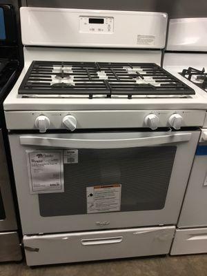 New White Whirlpool 4 Burner Gas Range Stove Oven!! for Sale in Chandler, AZ
