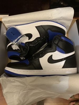 Nike Air Jordan 1 retro high royal toe size 8.5 for Sale in Wesley Chapel, FL