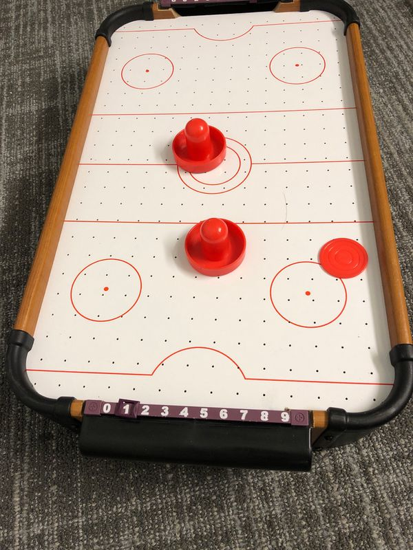 Kids Adults Table Air Hockey Game
