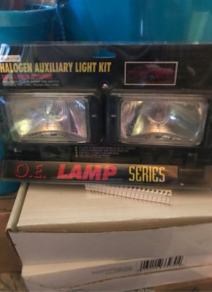 Halogen auxiliary light kit for Sale in Trafford, PA