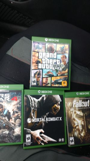 Xbox one games for Sale in Lacey, WA