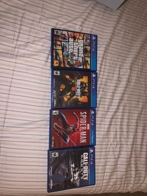 Ps4 games for Sale in Livermore, CA