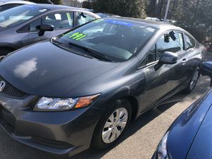 2012 Honda Civic LX Coupe only $200/month for Sale in Natick, MA