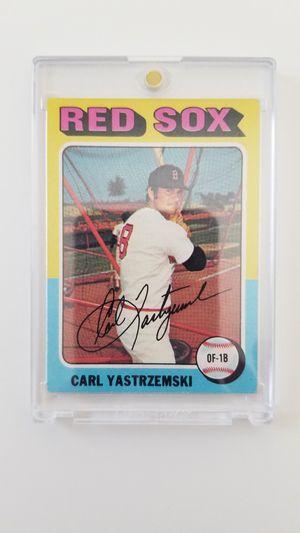 1975 Topps Carl Yastrzemski for Sale in El Paso, TX