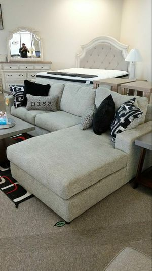 🍻🍾 $39 Down Payment 🕊 Ravenstone Flint LAF Sectional 145 for Sale in Jessup, MD