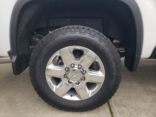 ***BRAND NEW TIRES AND RIMS***