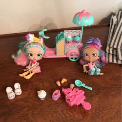 Shopkins Ice cream Doll Set for Sale in Ceres,  CA