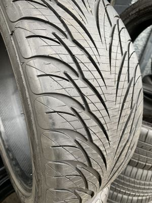 215/45/17 set of Federal tires installed for Sale in Rancho Cucamonga, CA