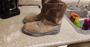 Steel toe work boots for Sale in Las Vegas, NV
