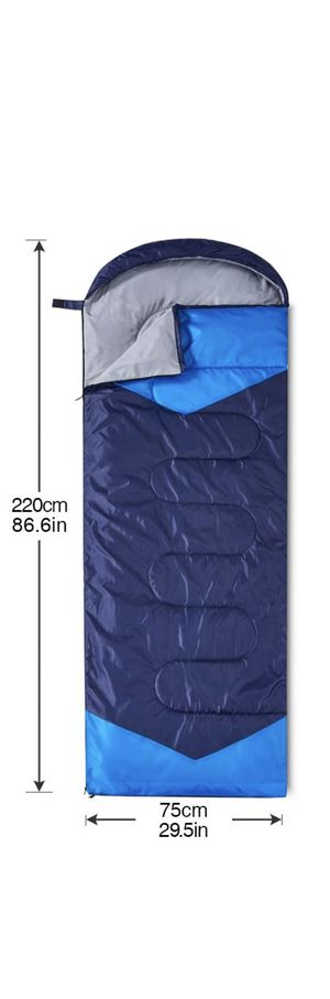 DreamGenius Double Sleeping Bag for Camping Waterproof Sleeping Bags for Adults no pillow for Sale in Santa Barbara, CA