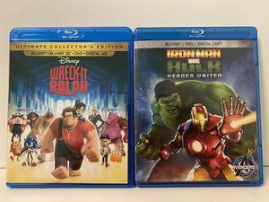 Disney/Marvel Blu-Ray Bundle $10.00 for Sale in Glendora, CA