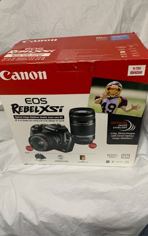 Canon eos rebelxsi new kit for Sale in Largo, FL