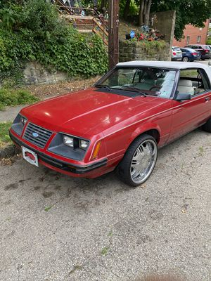 1983 Ford Mustang Convertible for Sale in Pittsburgh, PA
