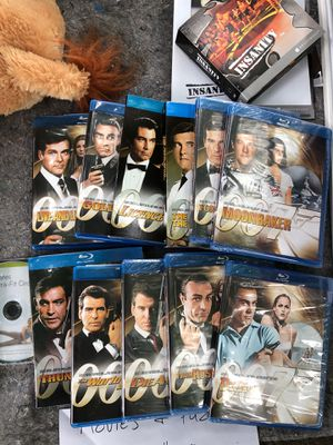 Blu-ray - James Bond collection for Sale in Herndon, VA