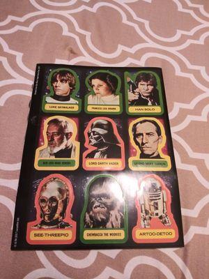 2017 Star Wars Topps sticker book for Sale in Gaithersburg, MD