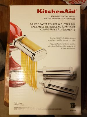 Kitchenaid pasta makers. Brand new 3 piece set for Sale in Philadelphia, PA