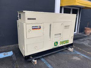 60Kw Diesel John Deere Gen Set for Sale in Doral, FL