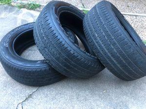 Tire BRIDGESTONE 275/55R20 (3 tires ) $38 each for Sale in Houston, TX