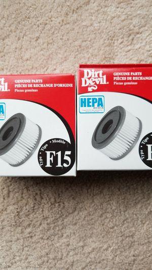Dirt devil vacuum filter for Sale in Houston, TX
