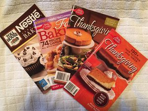 4 Thanksgiving, Fall, & Baking Recipe Booklets for Sale in Portland, OR
