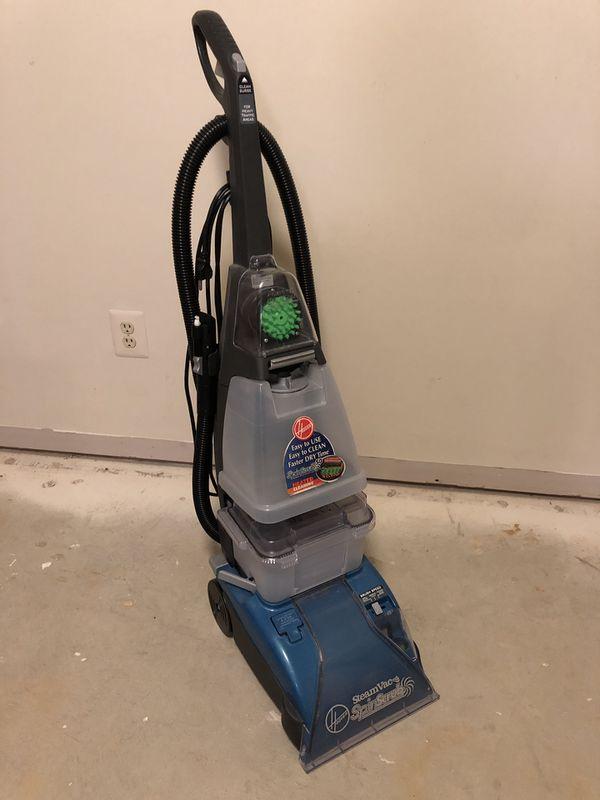 Hoover Spinscrub steam vacuum carpet cleaner