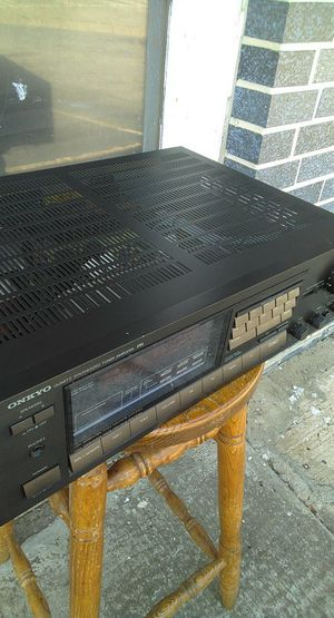 ONKYO synthesised Tuner for$100(excellent condition) for Sale in Atlanta, GA
