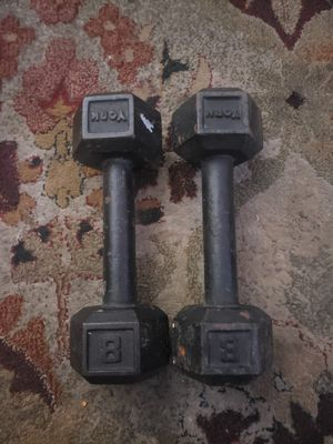 (2) Iron Dumbells -8 lbs for Sale in Fresno, CA
