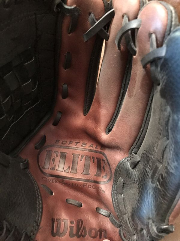 Wilson Mens Softball Glove. Used for 3 Games
