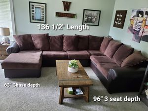 3pc Large Sectional Couch $500 OBO for Sale in Auburn, WA