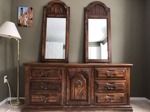 antique dresser with mirror for Sale in Sterling, VA