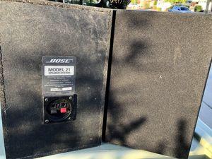 Bose Model 21 speakers for Sale in Glendale, AZ