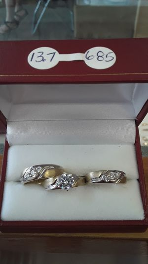 Wedding rings set for Sale in Mount Rainier, MD
