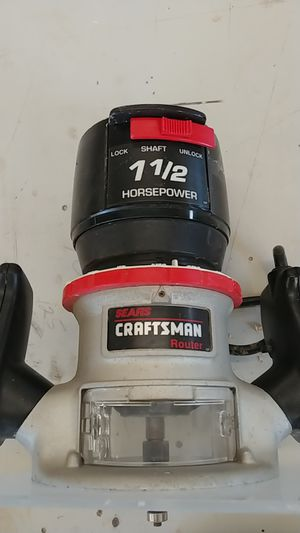 Craftsman Router - 1 1/2 Horsepower for Sale in Clermont, FL