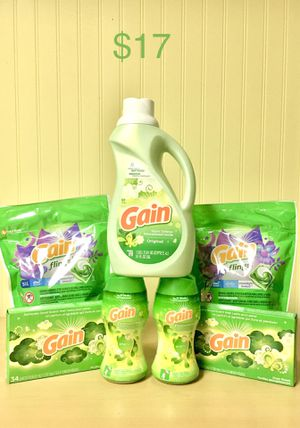 Gain Flings, Detergent, & Beads Bundle $17 for Sale in Centreville, VA