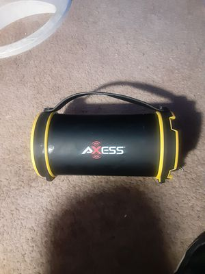 axess bluetooth speaker for Sale in Modesto, CA
