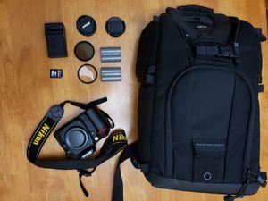 Nikon D90 DSLR Camera & Accessories for Sale in Covina, CA