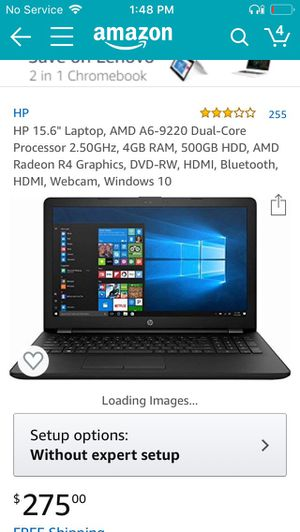 Hp laptop for trade for dj gear ONLY DJ GEAR 250$obo specs in pics Pick up only looking to trade for dj equipment same price range. for Sale in Baldwin Park, CA