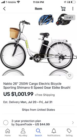 Nakto electric bicycle for Sale in Oakland, CA