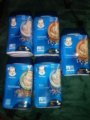 Gerber Cereal for Sale in Dallas, TX