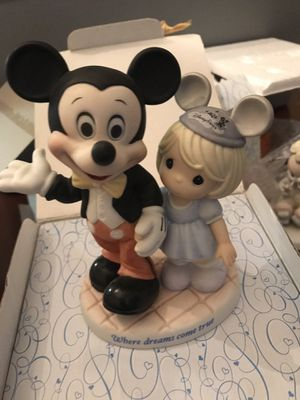"Disney's Precious Moments ""Where Dreams Come True"" w/original box for Sale in Woodstock, GA"
