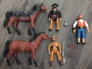 Legends of the Wild West Vintage Action Figure Vintage Old Toy Lot for Sale in Peoria, AZ