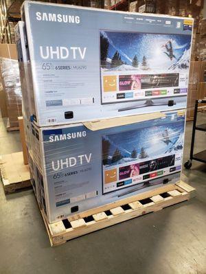 "65"" Samsung smart 4K UHD TV for Sale in Menifee, CA"
