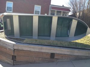 14' FISHING BOAT, 7.5 MOTOR, OARS, 3 LIFE JACKETS & ANCHOR. for Sale in North Versailles, PA
